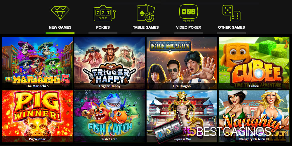 raging bull casino games