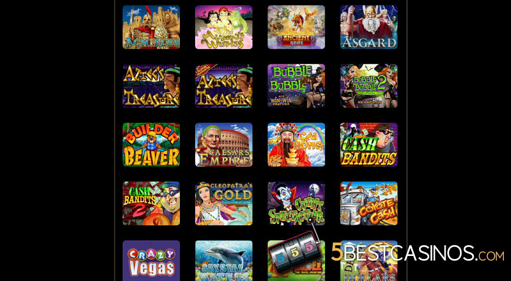 games at royal ace online casino