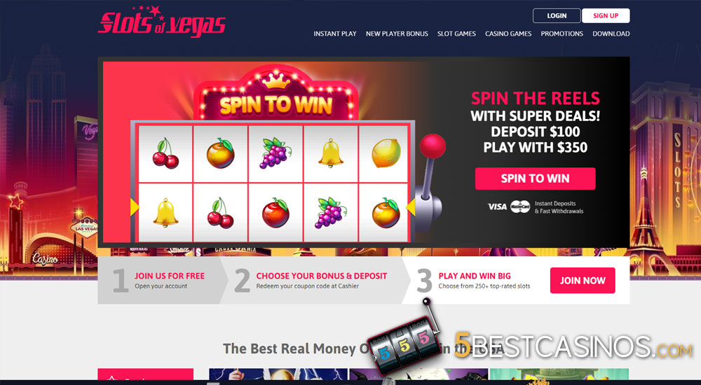 Slots Of Vegas Casino Review 5 Best Casinos