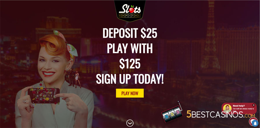 Slots Capital Casino Review Offer