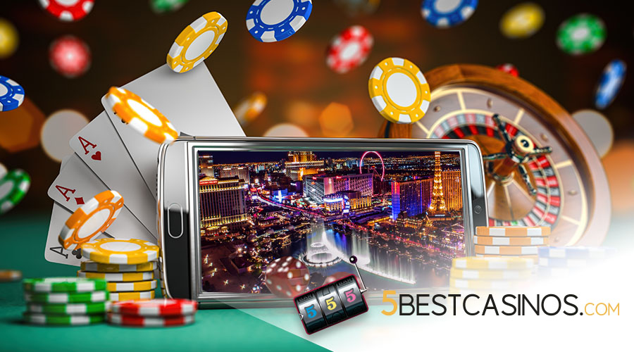legal online casinos Vegas - 5 Best Casinos