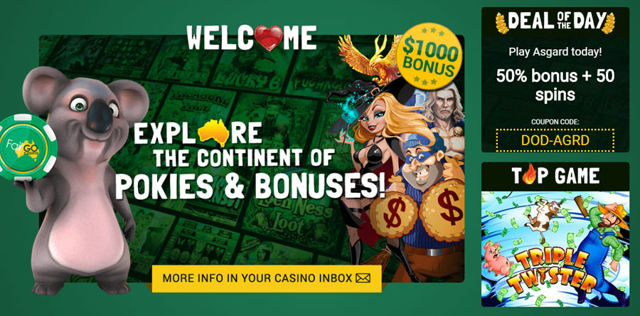 Fair Go Casino Review Offer
